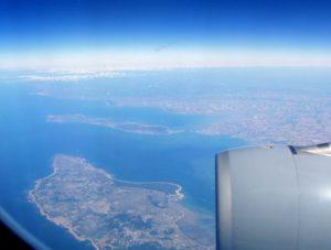 Dove andare TravelFeliz, vista dall'aereo