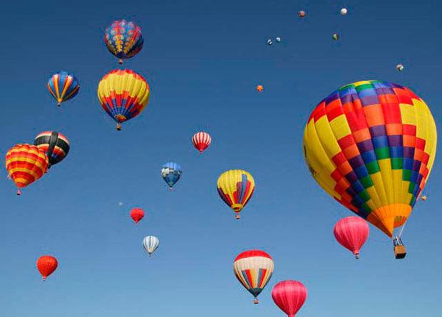 Padova e il festival delle mongolfiere
