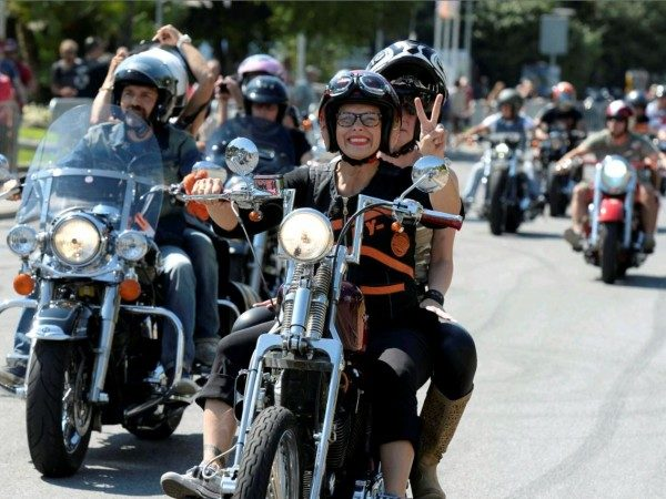 Raduno donne bikers