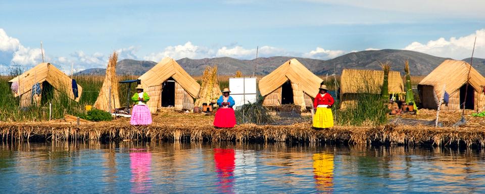 Uros, Bolivia, Lago Titicaca