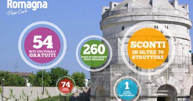 TravelFeliz con Romagna visit card