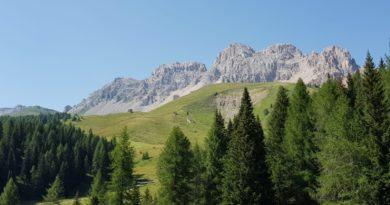 Moena, in Val di Fassa, Trentino